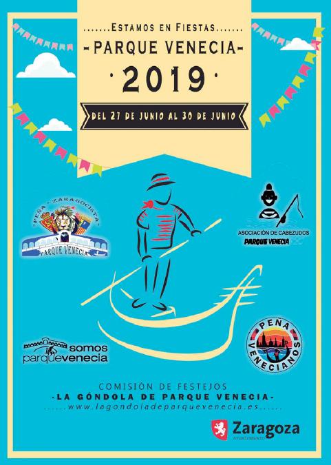 Estamos en fiestas: Parque Venecia – 27, 28, 29 y 30 de junio de 2019